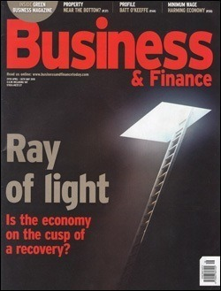 Rivista &quot;Business & Finance&quot; (Maggio, 2010)