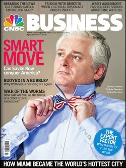 CNBC Business Magazine, April 2011