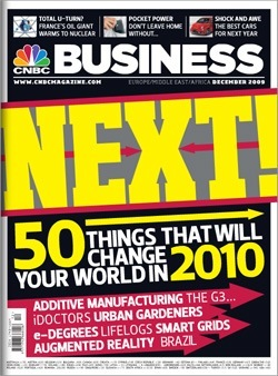 Rivista &quot;CNBC&quot; (Dicembre, 2009)