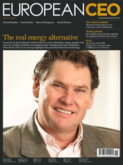 European CEO Magazine, May 2010