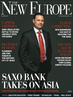 Rivista &quot;The New Europe&quot; (Aprile-Maggio, 2011)
