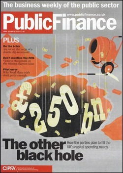 Public Finance Magazine, April 2010