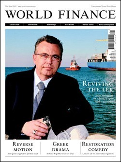 Magazine &quot;World Finance&quot; (Juin, 2010)