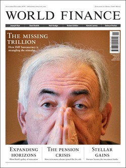 Rivista &quot;World Finance&quot; (Novembre, 2009)