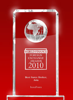 InstaForex – the Best Forex Broker in Asia 2010