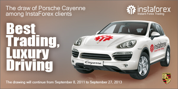 InstaForex presents its clients with Porsche Cayenne.