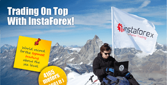 Trade with the best forex broker even on the peaks of the Alps!