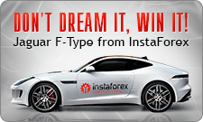 Don't dream it, win it! Jaguar F-Type from InstaForex