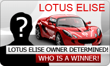 Una Lotus Elise messa in palio