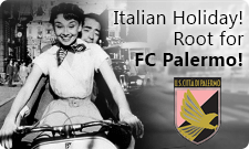 Win tickets to Palermo's home game in Italy!