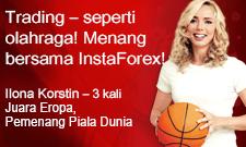 Ilona Korstin kemenangan baru bersama InstaForex